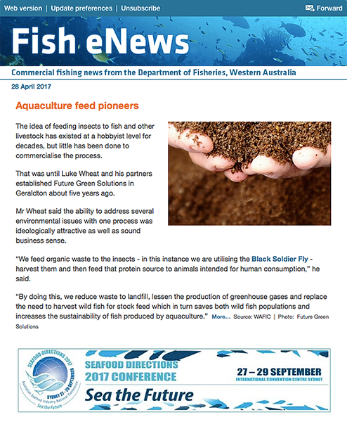 WA Fisheries Fish eNews